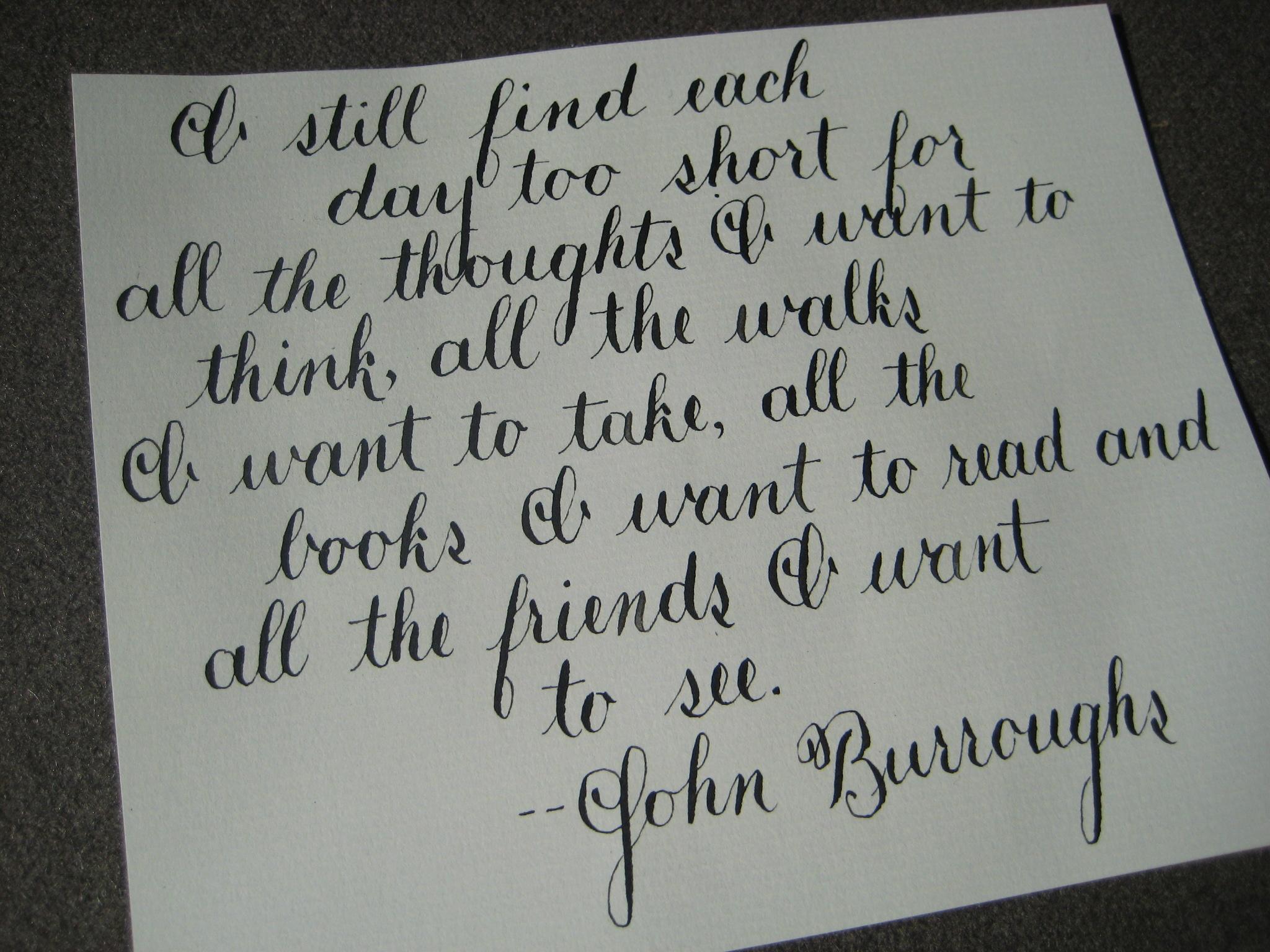 John Burroughs's quote #2