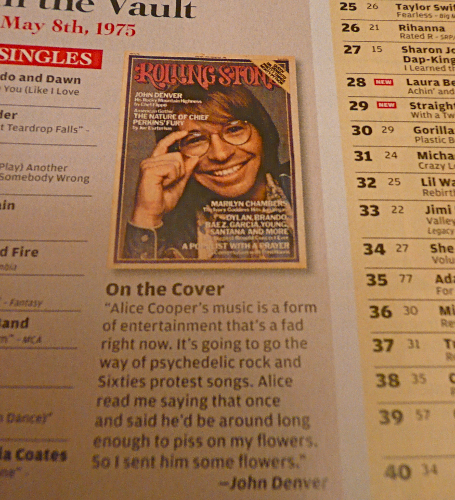 John Denver's Quotes, Famous And Not Much