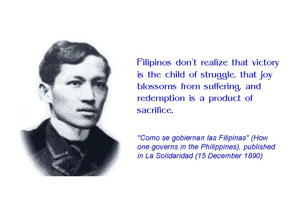poem of rizal to the filipino youth A la juventud filipina/to the filipino youth by jose rizal final project for kaspil1 professor: arleigh dela cruz video editor: alexia arrieta (used vegas pr.