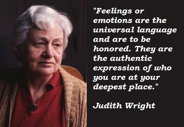 judith wright woman to man summary
