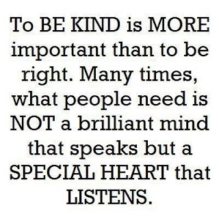 How to be a kind hearted person