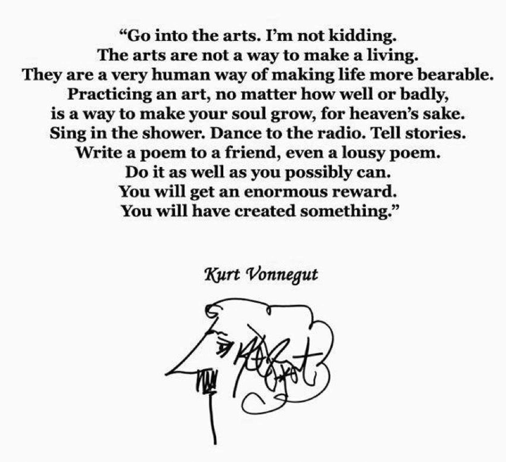 kurt vonnegut writing The effects of world war ii on kurt vonnegut's writing february 13, 1945:  dresden, germany war is raging across europe in a deep underground meat  locker.