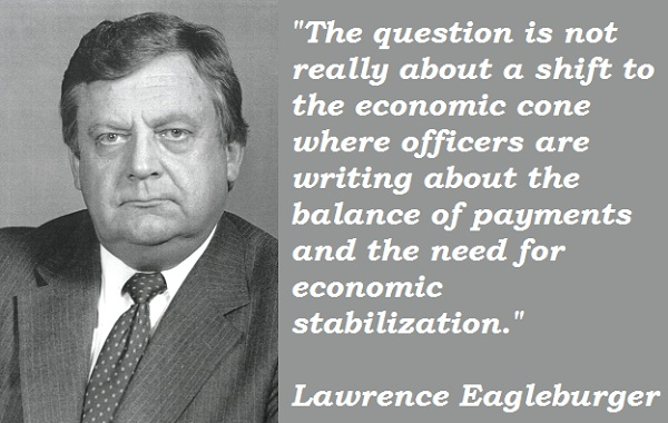 Lawrence Eagleburger's quote