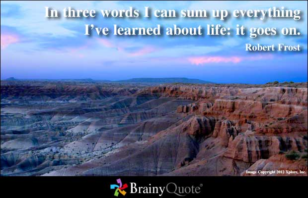 Learned quote #1