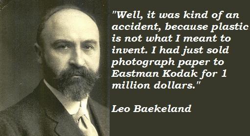Leo Baekeland's quote #2