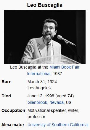 Leo Buscaglia's quote #4