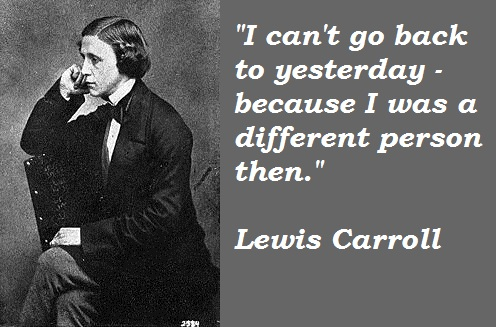 Lewis Carroll's quote #5