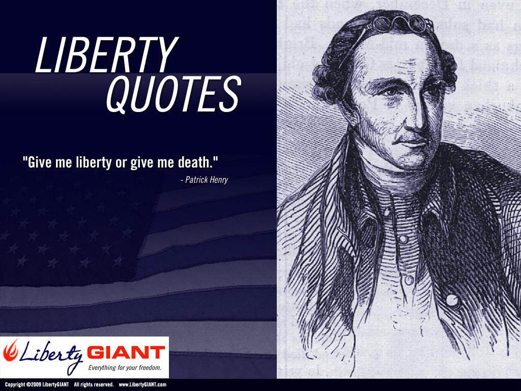 Liberty quote #2