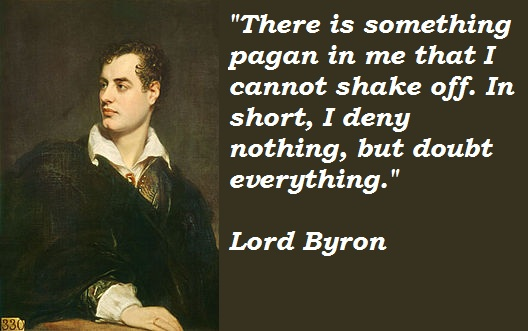 Lord Byron's quote #4