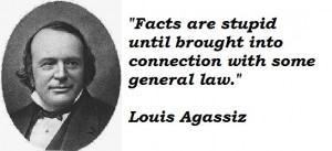 Louis Agassiz's quote