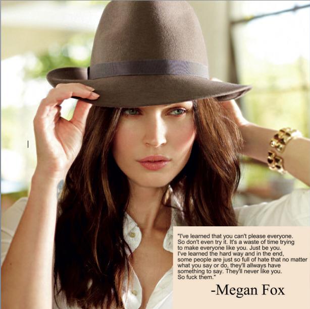 Megan Fox Image Quotation #4 - QuotationOf . COM Megan Fox Quotes