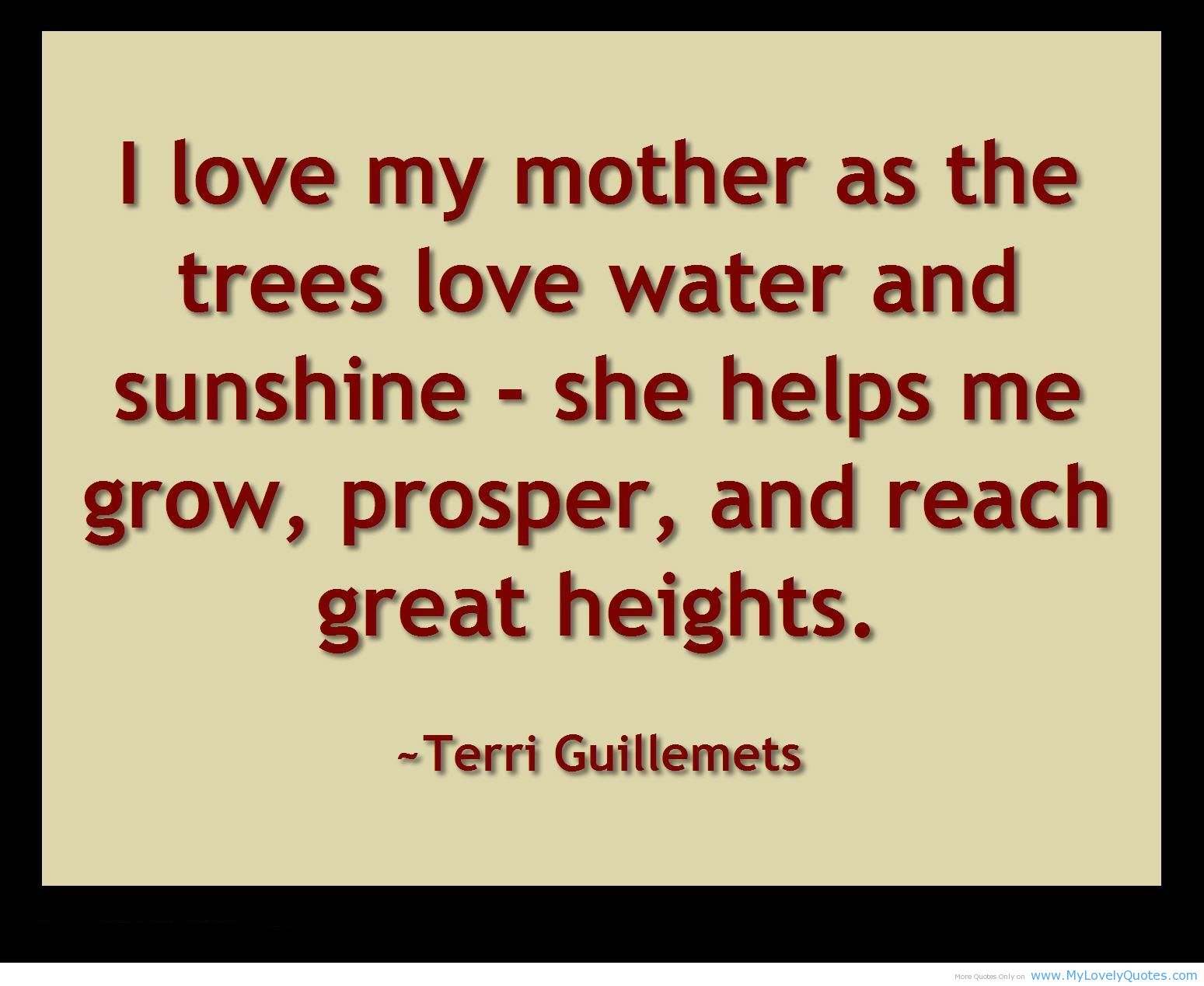 Mother quote #4