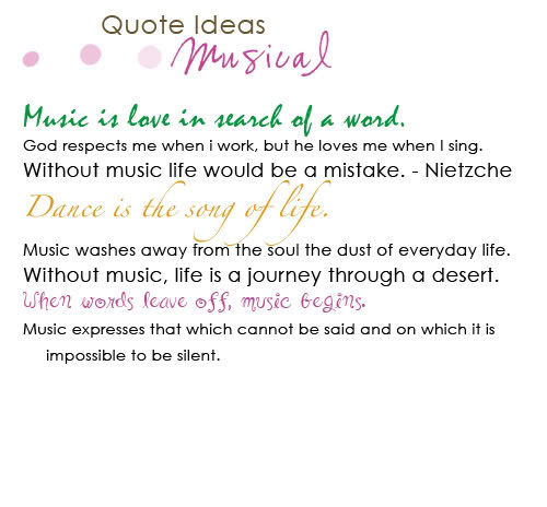 Musical Image Quotation #7 - QuotationOf . COM
