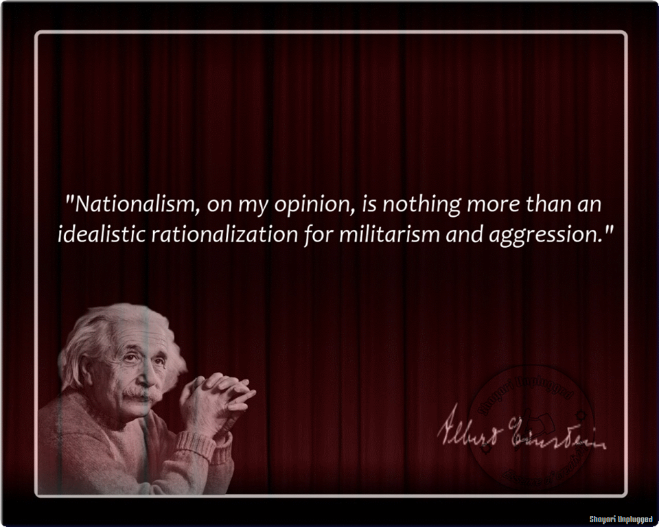 an overview of extreme patriotism and nationalism Or ethnic nationalism now, in basic overview,  nationalism = irrationality to the extreme he is not talking about the nationalism that means extreme patriotism.