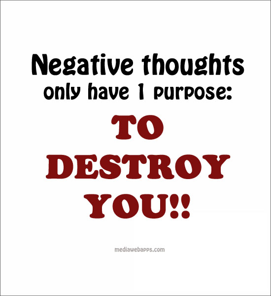 Famous Quotes About Negative Thoughts   QuotationOf . COM Design
