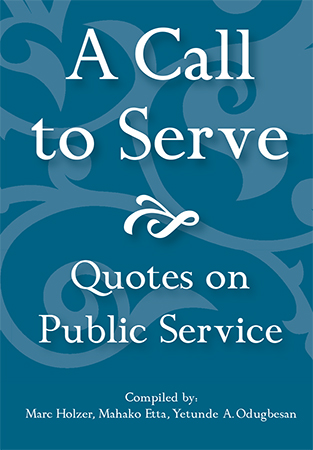 Essay On Good Governance And The Role Of The Public Servant