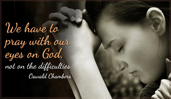 Oswald Chambers's quote