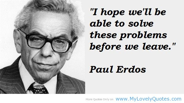 a biography of paul erdos a hungarian mathematician A biography of rényi, however, says the anecdote was actually a mathematician is a machine for converting coffee into theorems rényi was the founder, and for 20 years the director, of the mathematical institute of the hungarian academy of sciences.