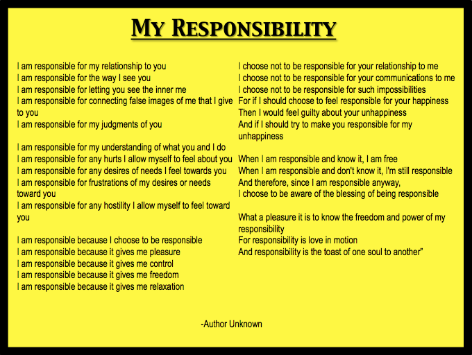 essay on personal responsibility co essay on personal responsibility