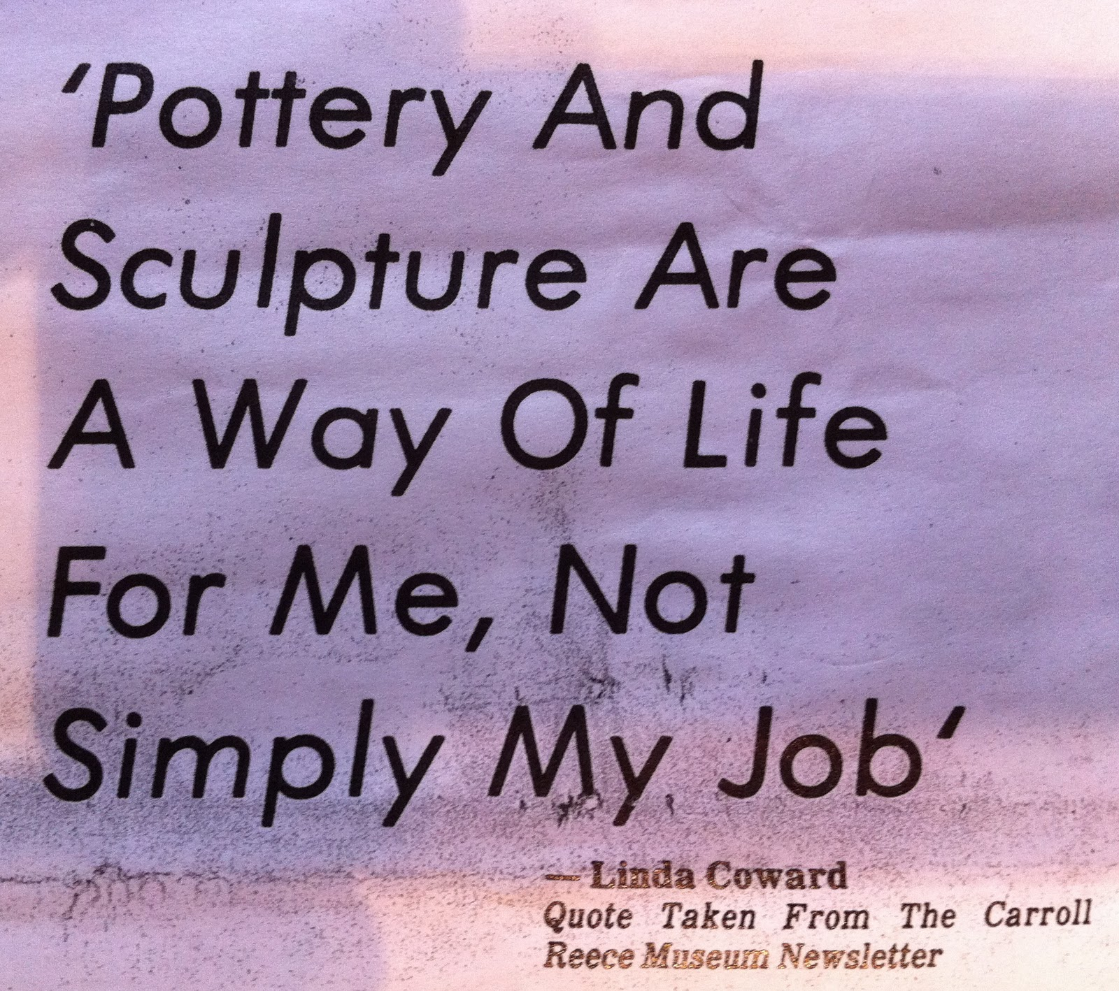 Famous Quotes About Pottery Quotationof Com