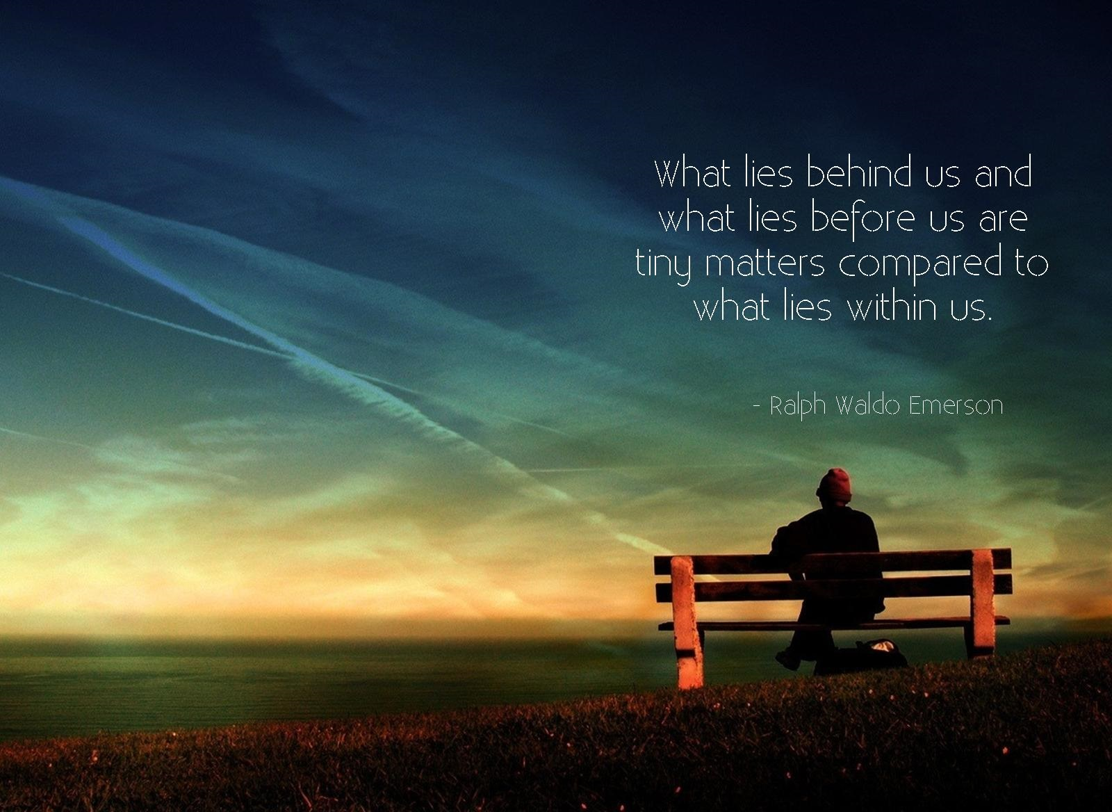 Ralph waldo emerson 39 s quotes famous and not much for The emrson