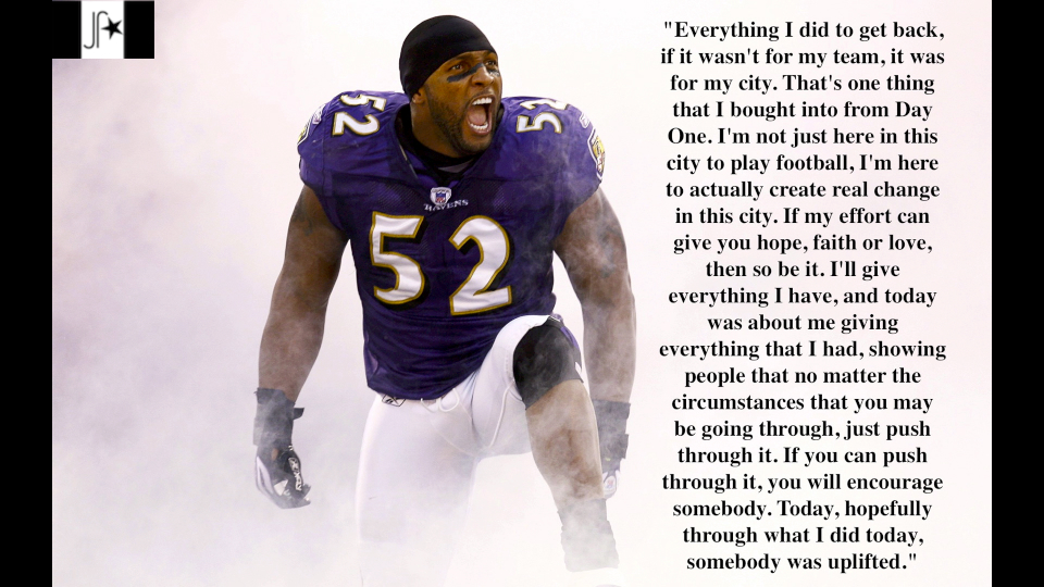 Ray Lewis Quotes About Leadership: Ray Lewis's Quotes, Famous And Not Much