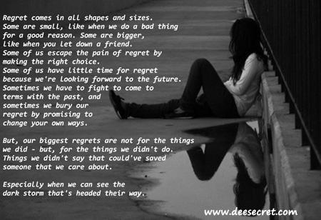 Regret quote #6