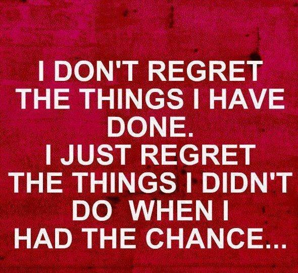 Regret quote #7