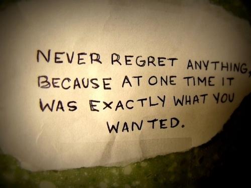 Regret quote #5