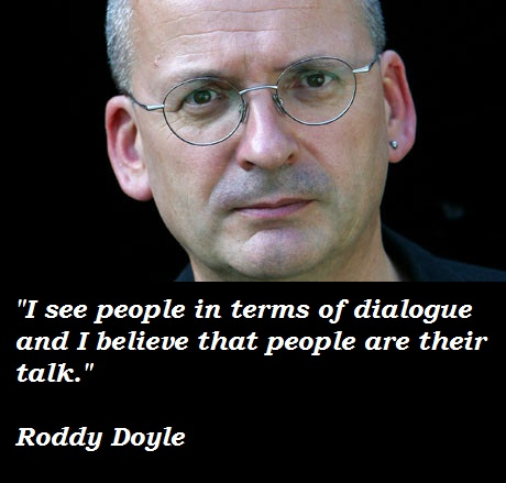 a biography of roddy doyle the irish writier It's opening sentences like that that put many people straight off roddy doyle, a writer whose casual peddler of irish the deportees, by roddy doyle.