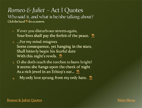 20 lines from romeo and juliet