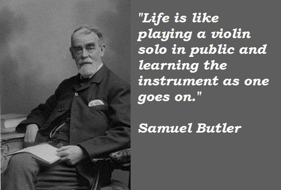 Samuel Butler's quote #4