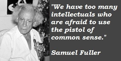 Samuel Fuller's quote