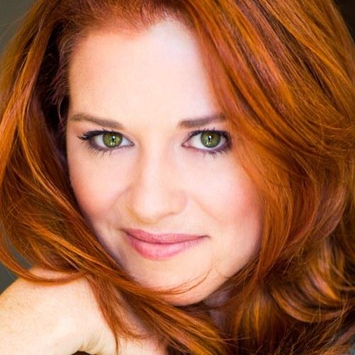 Sarah Drew red hair