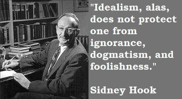 Sidney Hook's quote