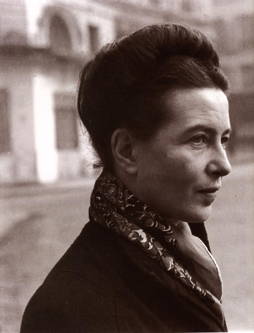 Simone de Beauvoir's quote