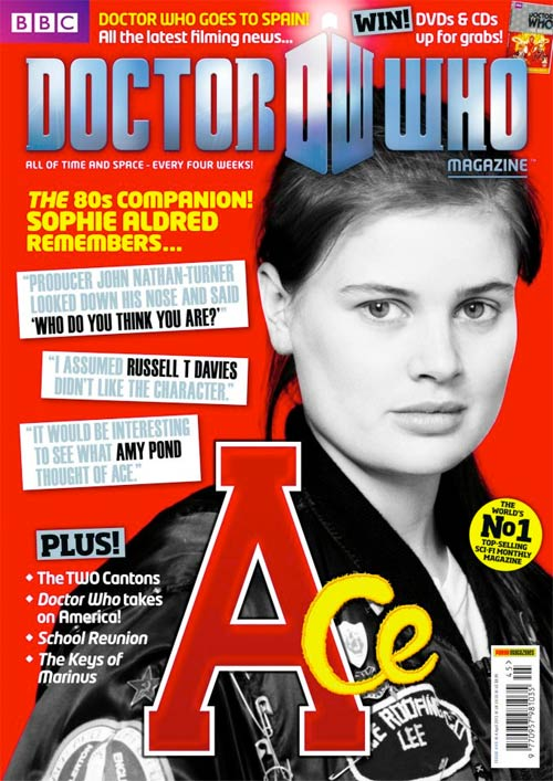 Sophie Aldred's quote