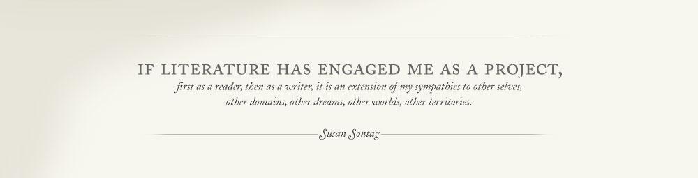 Susan Sontag's quote