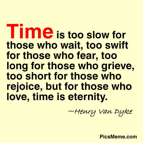 Famous Quotes About 'Time'