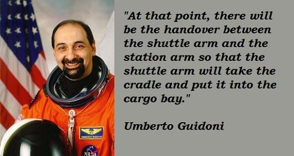 Umberto Guidoni's quote #7