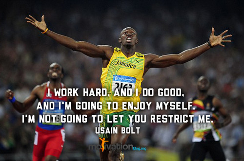Usain Bolt's quote #1