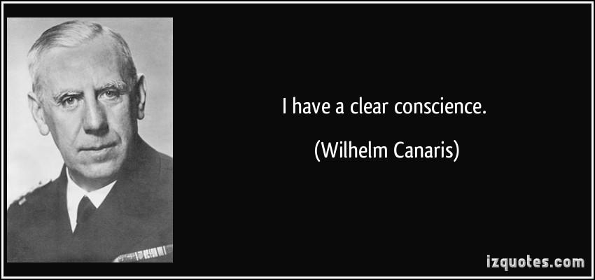 Wilhelm Canaris's quote #1