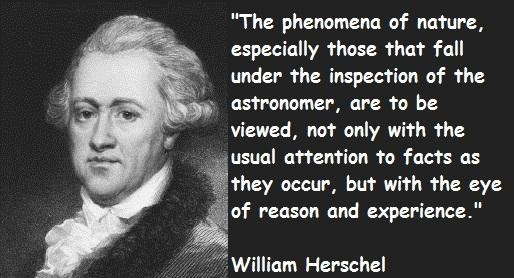 william-herschel-quotes