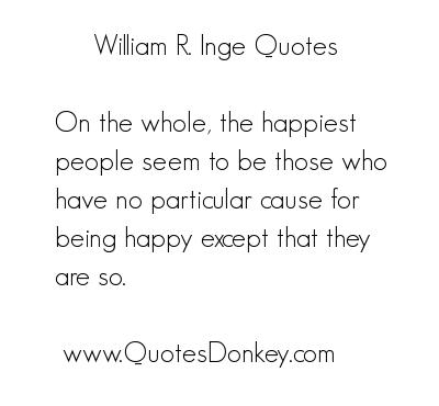 William Ralph Inge's quote