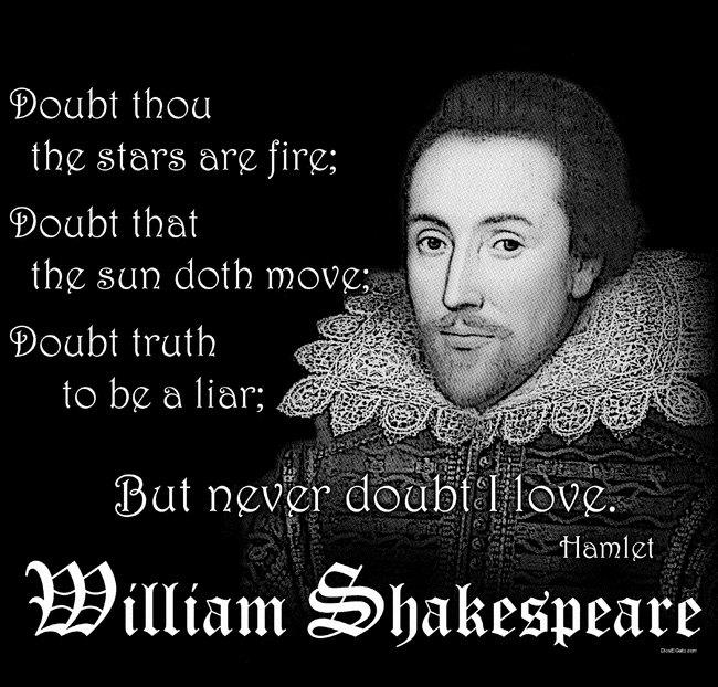 William Shakespeare's quote #7