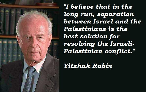 Yitzhak Rabin's quote #3