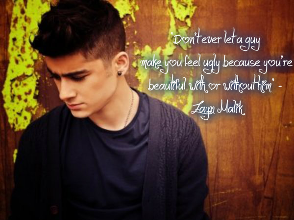 Zayn Quotes About Love : Zayn Maliks quotes, famous and not much - QuotationOf . COM