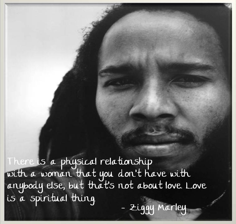 Ziggy Marley's quote