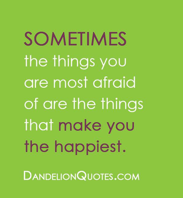 Afraid quote #3
