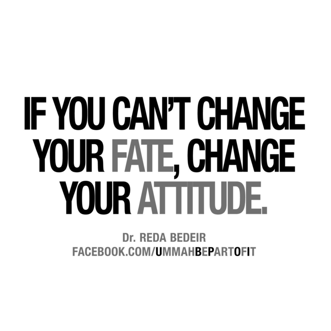 Attitude quote #1